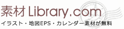 無料のイラスト・かわいいテンプレート | 素材ライブラリー | 郵便ポストイラスト01