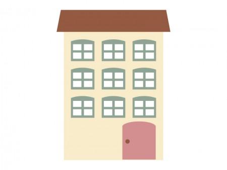 家、マンション、アパート・イラスト素材04