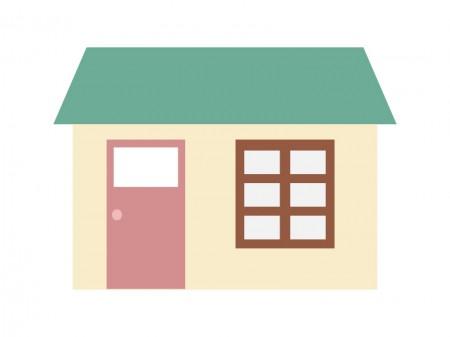 家、マンション、アパート・イラスト素材06