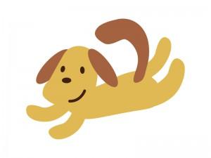 イヌ犬イラスト素材01 イラスト無料かわいいテンプレート