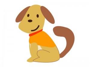 イヌ犬イラスト素材03 イラスト無料かわいいテンプレート