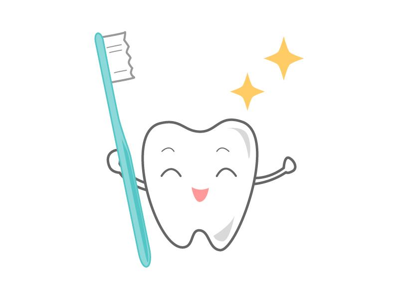 歯のキャラクター01