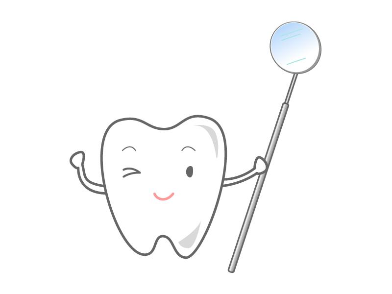 歯のキャラクター02