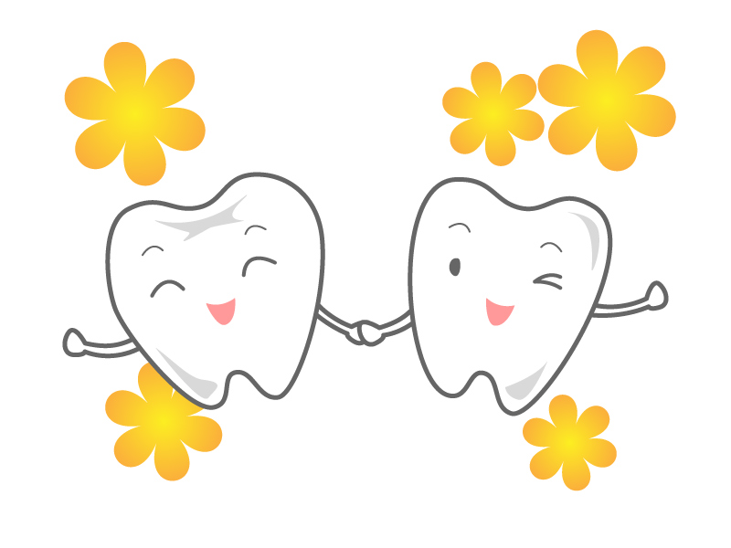 歯のキャラクター04