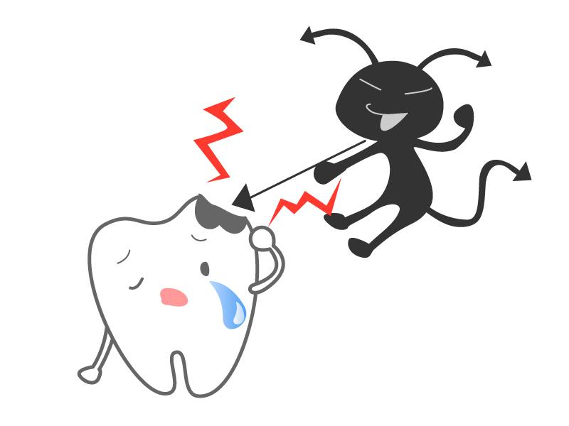 歯のキャラクター06