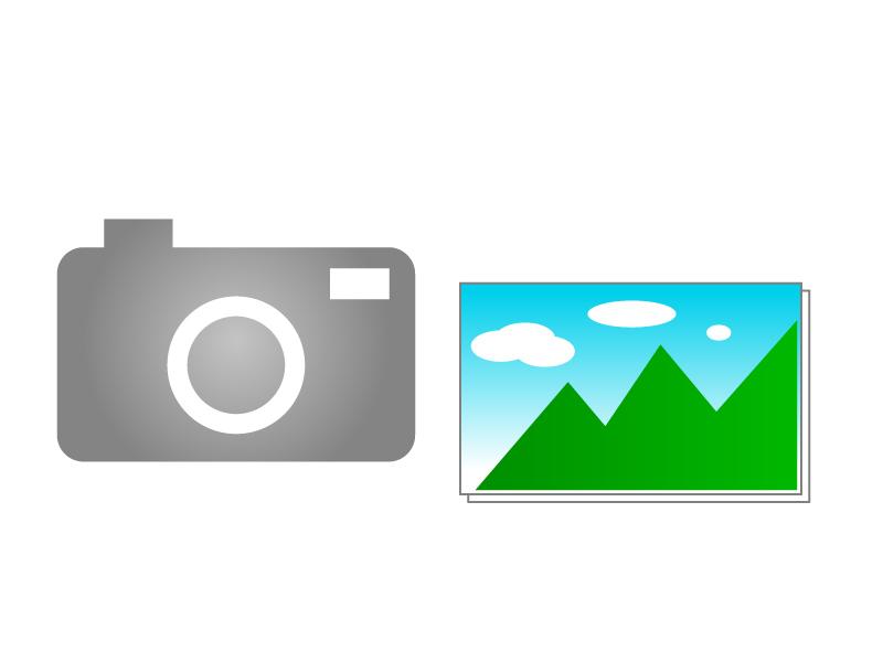カメラ・写真イラスト素材01