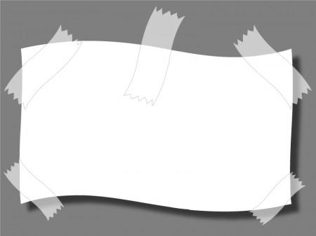 テープ・セロハン・用紙イラスト素材01