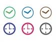 時計・アナログイラスト・アイコン02