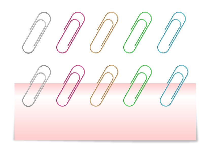 クリップのイラスト素材02