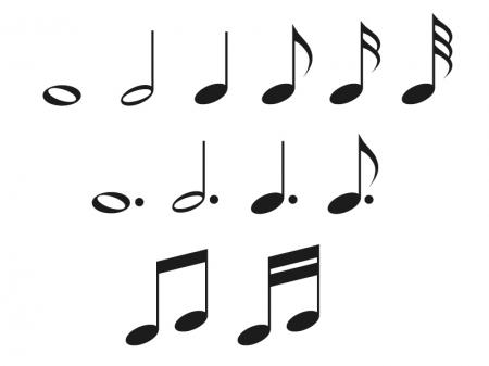 音符イラスト素材01