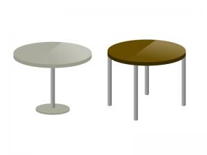 テーブル・机イラスト素材01