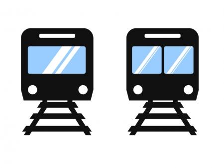 電車・鉄道イラストアイコン素材02 無料ダウンロード