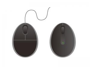 マウスイラスト素材01 無料ダウンロード