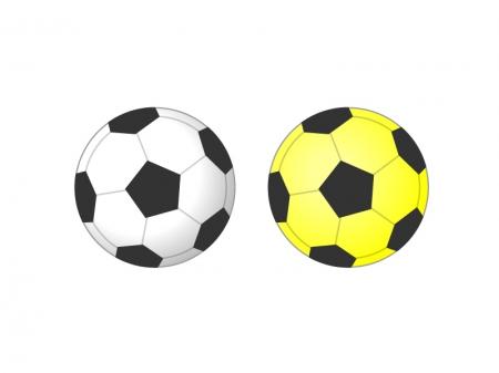 サッカーボールイラスト素材01 無料素材ダウンロード