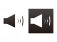 スピーカー・サウンドイラスト素材01 無料ダウンロード