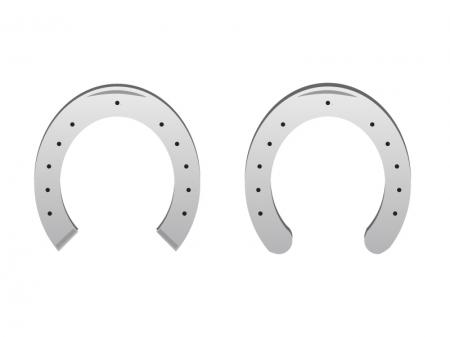 馬の蹄鉄イラスト素材 無料ダウンロード