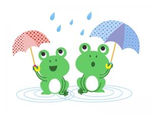 カエル(蛙)イラスト素材04 無料イラスト素材ダウンロード