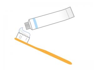 歯ブラシイラスト素材02 無料イラストダウンロード