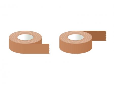 ガムテープ・粘着テープイラスト素材01 無料ダウンロード