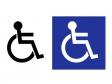 車椅子マークイラスト・シルエット素材 無料ダウンロード