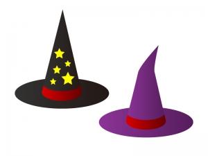 パーティー・ハロウィン帽子イラスト素材 無料ダウンロード