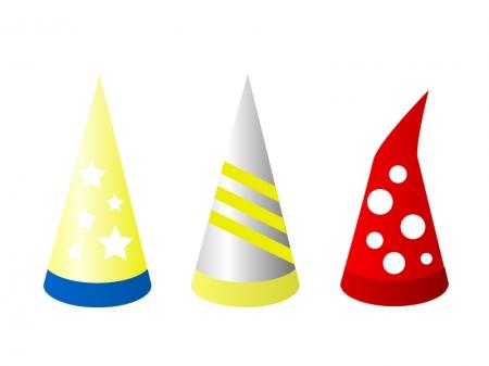 パーティー・ハロウィン帽子イラスト素材02 無料ダウンロード