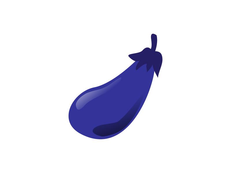 ナス・野菜イラスト素材01 無料イラストダウンロード