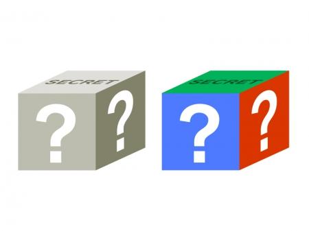 シークレットボックス・はてなイラスト素材 無料ダウンロード