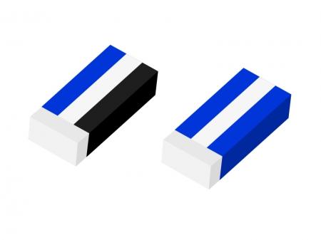 消しゴム・文房具イラスト素材01 無料ダウンロード