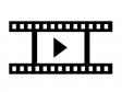 動画・ムービーシルエットイラスト素材02 無料ダウンロード