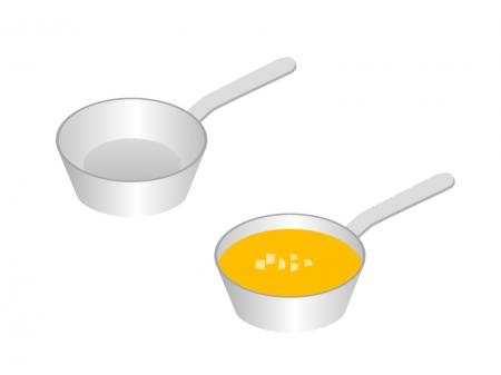 鍋・キッチンイラスト素材01 無料ダウンロード