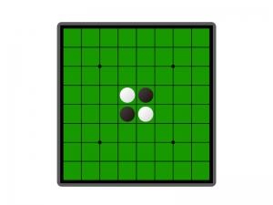 オセロ・ゲームイラスト素材01 無料ダウンロード