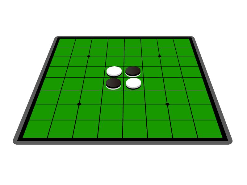 オセロ・ゲームイラスト素材02 無料ダウンロード