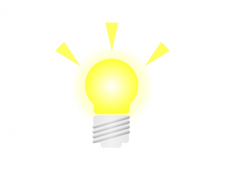 電球・ライトイラスト素材01 無料ダウンロード
