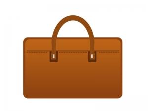 手提げカバン(鞄)のイラスト素材 無料ダウンロード
