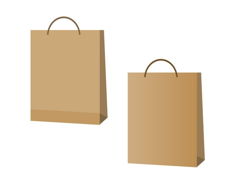 紙袋イラスト素材 無料ダウンロード