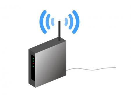 ルータ・PC機器イラスト素材 無料ダウンロード