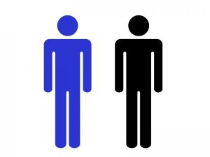 男性・人物シルエットイラスト素材 無料ダウンロード