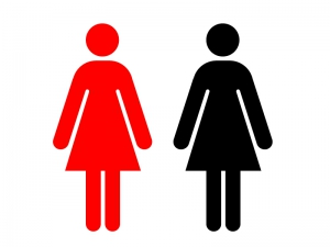 女性・人物シルエットイラスト素材 無料ダウンロード
