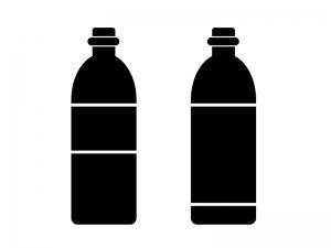 ペットボトルシルエット素材 無料ダウンロード