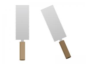 両刃タイプのノコギリイラスト素材 無料ダウンロード