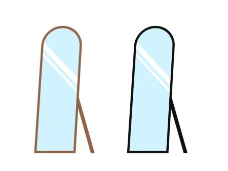 姿見の鏡・ミラーイラスト素材 無料ダウンロード