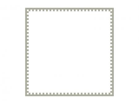 四角いシンプルな飾り枠素材01