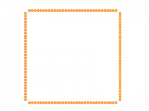 シンプルな飾り枠素材01 無料ダウンロード
