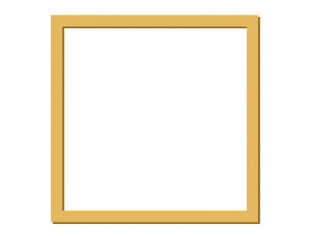 影付き枠線の素材01