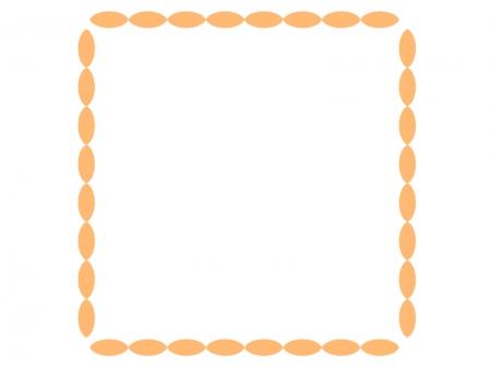 シンプルなフレーム・飾り枠素材01