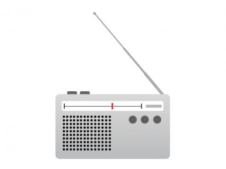 ラジオイラスト素材
