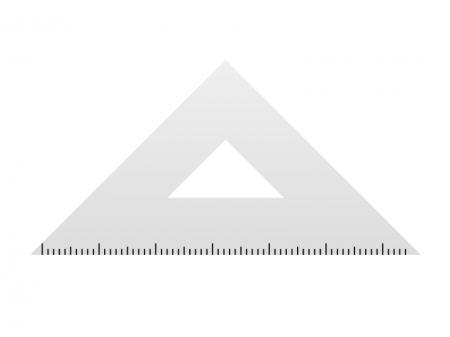 三角定規イラスト素材