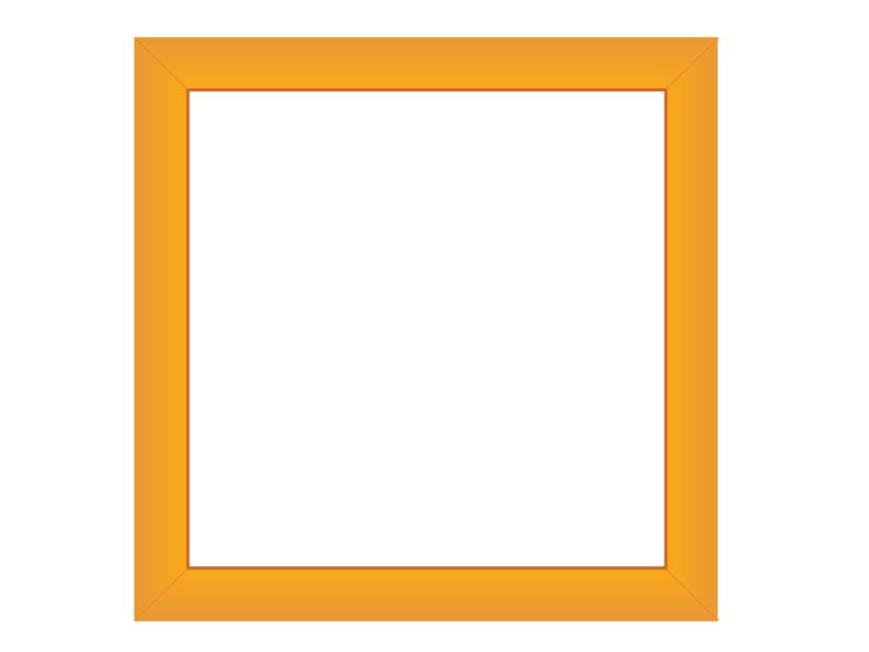 写真立て風飾り枠・フレーム素材01