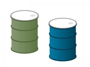 ドラム缶イラスト素材